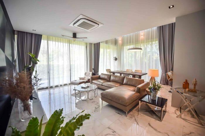 4 Schlafzimmer Pool Villa