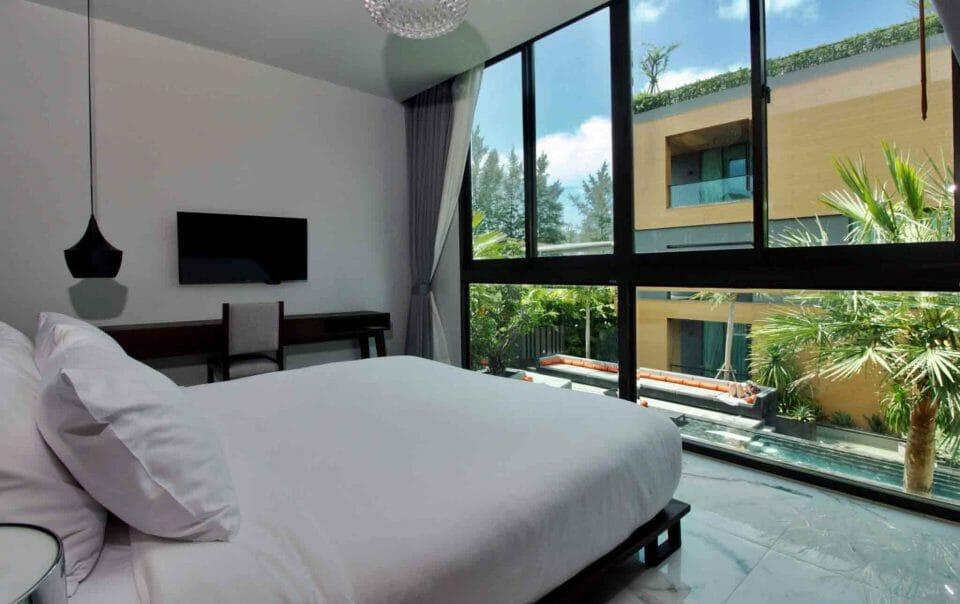 Suiten mit 1 Schlafzimmer