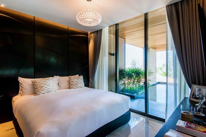 Glam Habitat Kamala Strand-Schlafzimmer