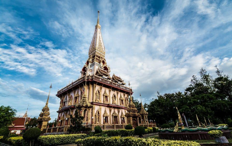 Phuket Insel Chalong Tempel