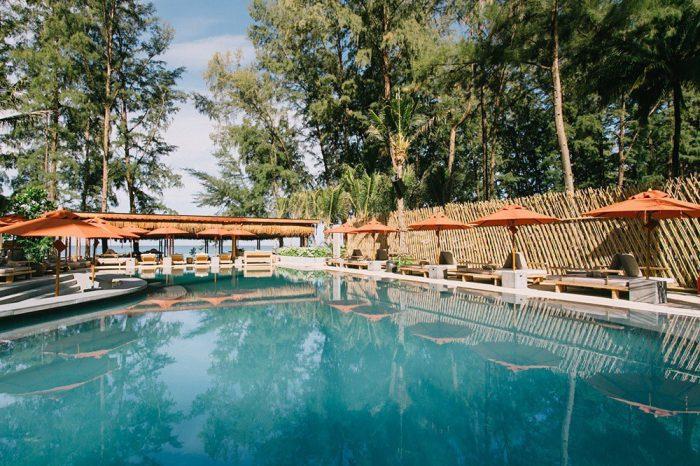 Café der mar pool