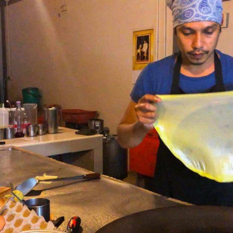 Kamala Grüner Pfannkuchen
