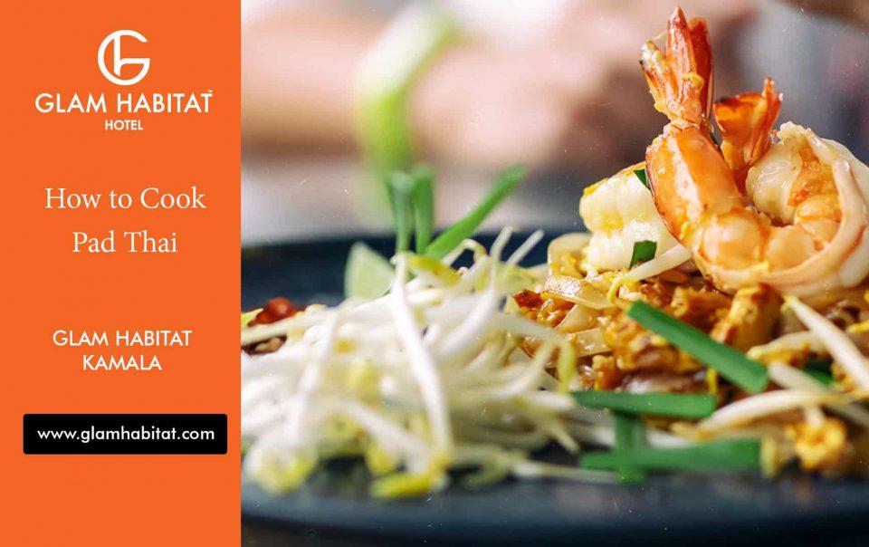 Wie man Pad Thai kocht