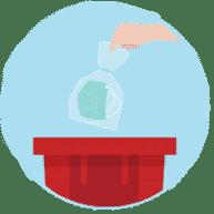 COVID-19 Entsorgungsabfälle